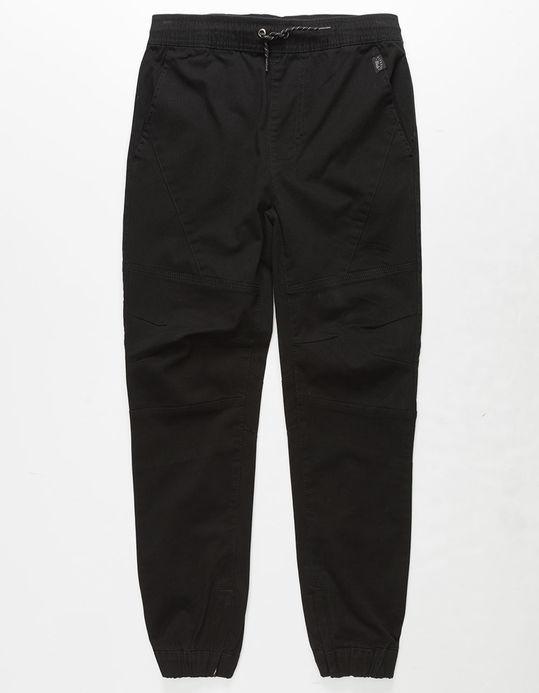 NITROUS BLACK Capacity Boys Moto Jogger Pants