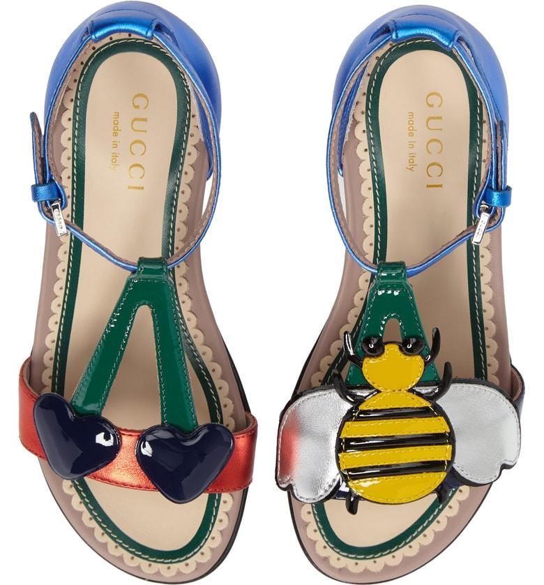 Bee Cerise Sandal