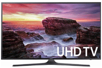 55-inch Samsung LED  4K Ultra HD TV with HDR