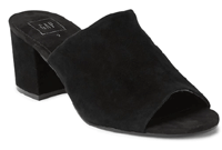 Open-Toe Block Heel Mules