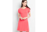 Softspun Fit and Flare Dress $34.99