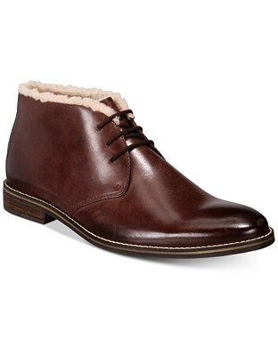 Men's Jason Fleece-Lined Leather Boots €90.64