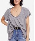 Nori Drapey Scoop-Neck T-Shirt From €43.51