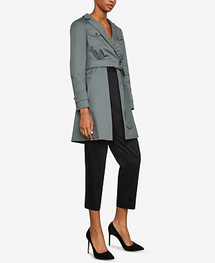 Open-Panel Trench Jacket From €297.32