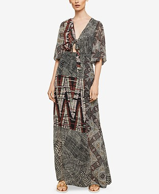Printed Maxi Wrap Dress From €297.32