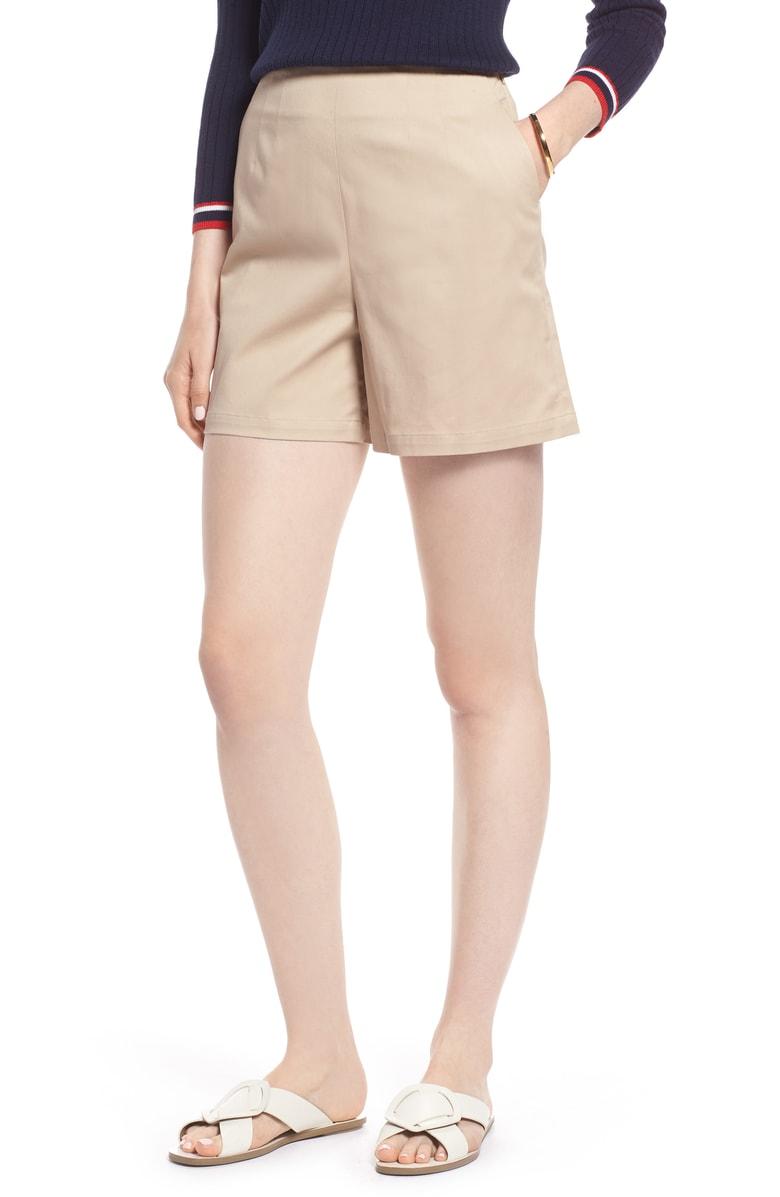 Clean Twill Shorts