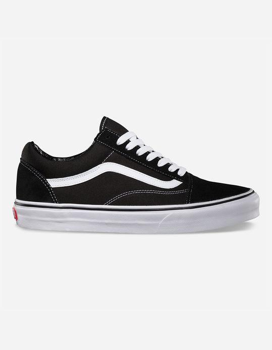VANS Old Skool Black & White Shoes