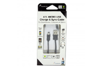 Black Micro USB Charge & Sync Cable