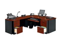 Get Bowfront L-Desk